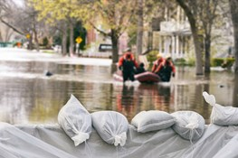 How do insurance companies have the funds to cover so many claims after a natural disaster?