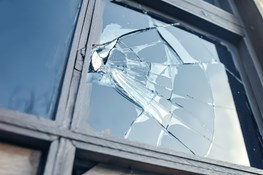 How bad does the damage have to be for my home insurance to cover vandalism?